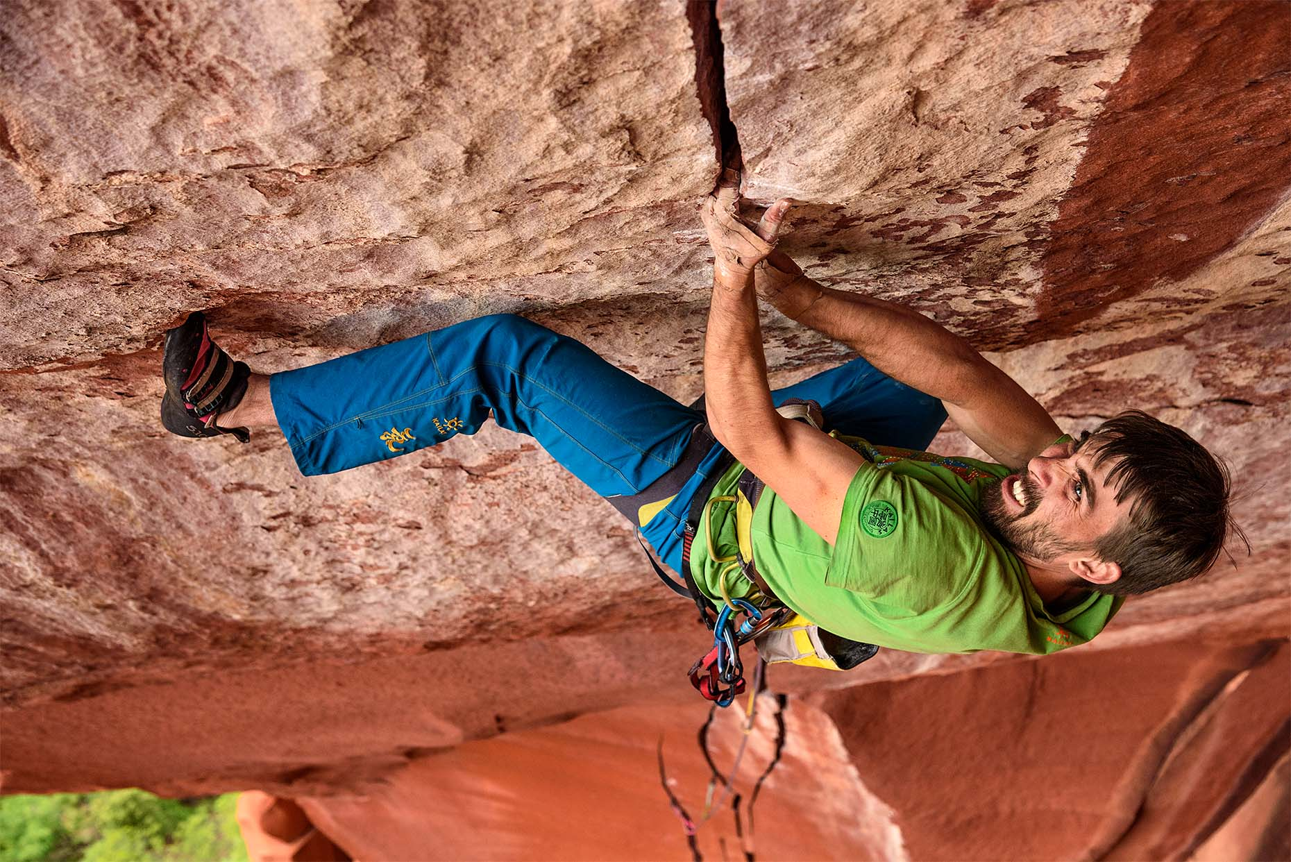 Logan Barber on First ascent of the Firewall